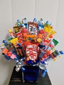 Candy-Sugar Rush We require 24 hr notice on all candy bouquets