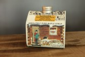 SugarTowne Maple Syrup Charming Log Cabin Tin 16.9 oz.