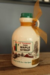 SugarTowne Maple Syrup Plastic Jug Quart Amber with Rich Taste