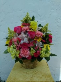 Pastel Basket - Medium