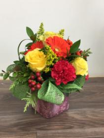 Celebrate life Vase arrangement