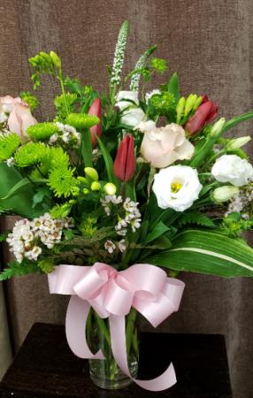 Summer Blooms Vase Arrangement