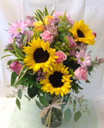 Summer Breeze Floral Bouquet