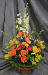 SUMMER BREEZE FRESH FLOWER ARRANGEMENT
