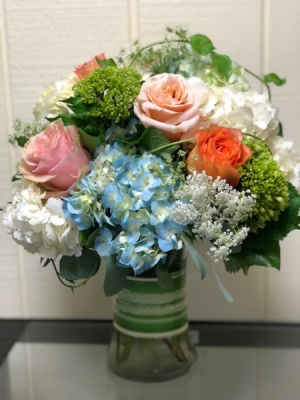 Summer Breeze Vase Arrangement in Fairfield, CT | Blossoms at Dailey's Flower Shop