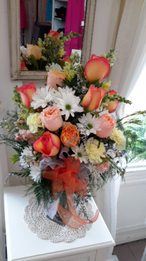 Summer bright Roses and daisy's