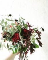 Crimson Handtied Bouquet