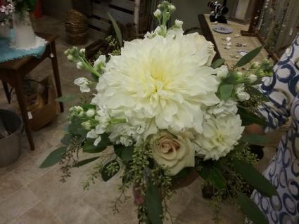 Summer Dahalia Bridal Bouquet