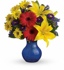 Summer Daydream Bouquet Vase Arrangement