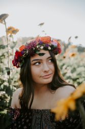 Summer Floral Crown Floral Crown