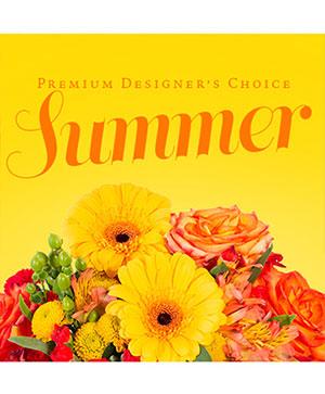 Summer Florals Premier Designer's Choice in Wilson, NC | Triple C Flowers & Gifts