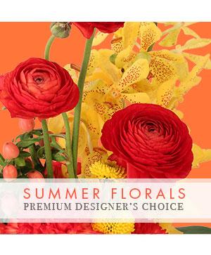 Summer Florals Premier Designer's Choice in Petersburg, WV | PETALS FLOWERS & GIFTS