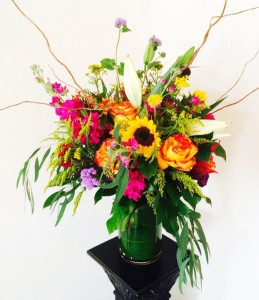 Summer Garden Bright And Airy In Wildwood Nj Petals Floral Design