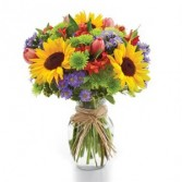 Summer Garden Floral Arrangement