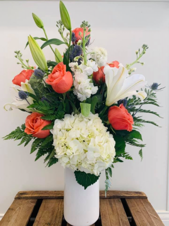 Summer Glow Floral Arrangement