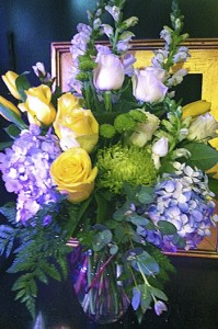 Summer Splash Vase Arrangement in Bethel, CT | BETHEL FLOWER MARKET OF STONY HILL