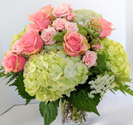 Summer Harvest Bouquet Fresh Vase Arrangement