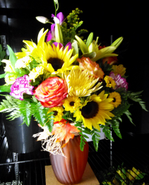 Summer Harvest Floral Arrangement