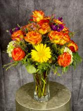 Summer Harvest Vase Arrangement