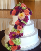 Summer Hues Bridal Arrangements