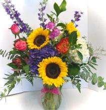 Summer Hydrangeas Custom Made by Petal Pusher