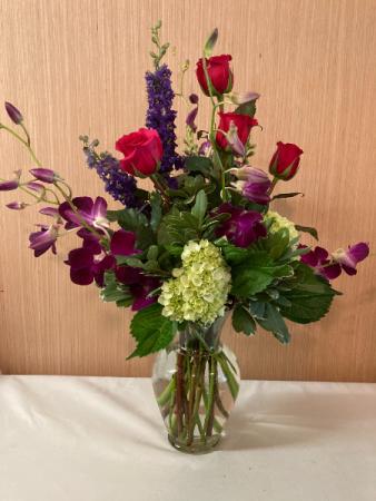 Summer Jewels Vase Arrangement