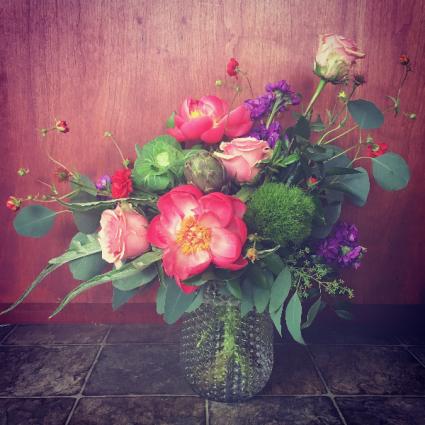 Summer Kickoff Vase Arrangement