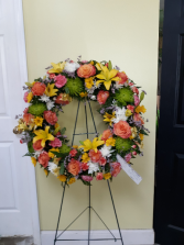 Summer Love Wreath