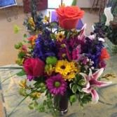 Flower Loving Fun Vase Arrangement