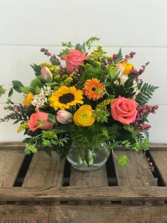 Summer Meadow Floral Arrangement