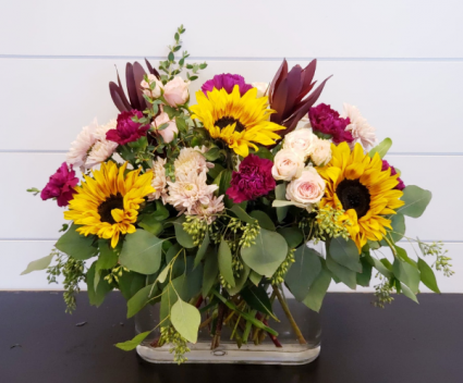 Sunny Meadow Vase Arrangement
