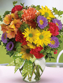 Summer Mix Vase Arrangement