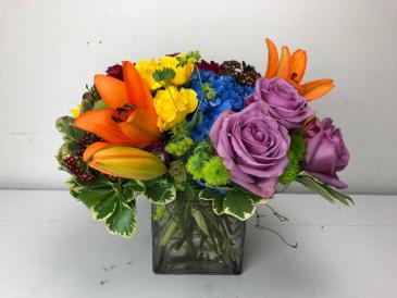 Vibrant Vitality Vase Arrangement