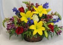 Summer Morning Floral Arrangement