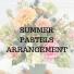 Summer Pastels  Arrangement