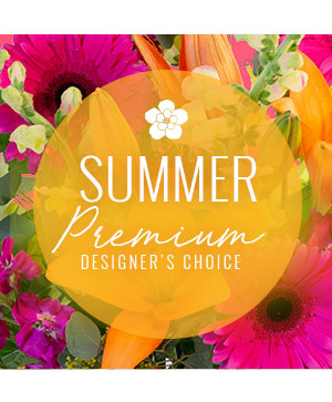 Summer Premium Designer's Choice in West Caldwell, NJ | LILY OF THE VALLEY FLORAL ARRANGEMENTS