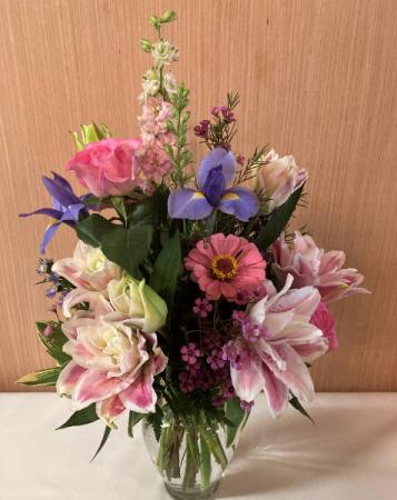 Summer Rain Vase Arrangement