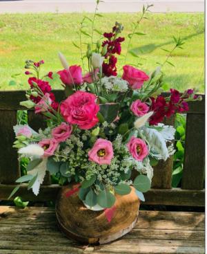 Summer Romance Vase Arrangement in Iowa City, IA | Every Bloomin' Thing