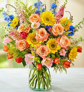 Summer Sensation Abundant Summer Blooms Arrangement