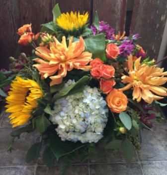 Summer Sensations Vase Arrangement