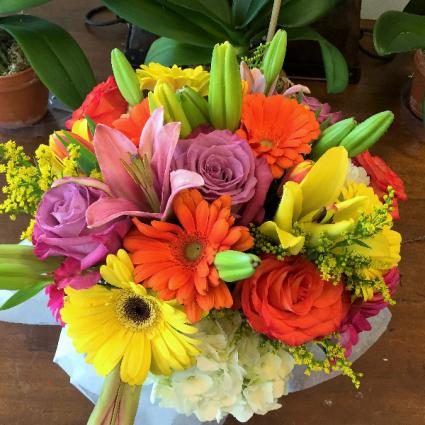 Summer Sizzler Vase Arrangement