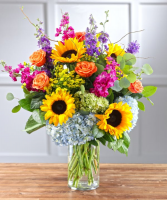 Summer Smiles Fresh Floral Arrangement