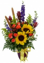 Summer Solstice Vase Arrangement
