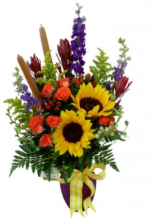 Summer Solstice Vase Arrangement