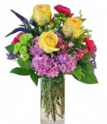 SUMMER SONATA Arrangement of Flowers