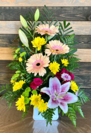 Summer song  Fresh flower arrangement