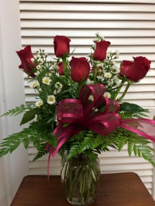 Classic Red Roses Red Roses in Albany, GA | WAY'S HOUSE OF FLOWERS