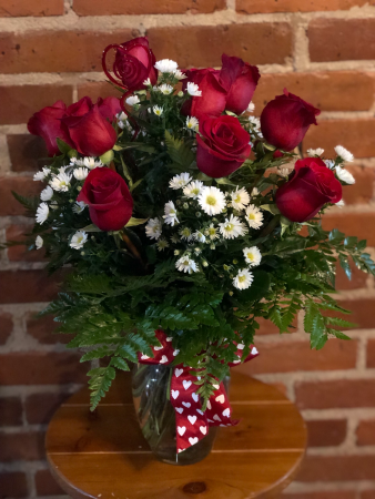 Classic Red Roses Red Roses In Albany Ga Way S House Of Flowers