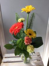 Summer Splash Vase arrangement