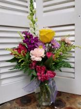 Summer Splendor Mix Mixed arrangement in vase